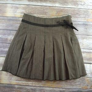 Free People Pleated Mini Skirt Size 2